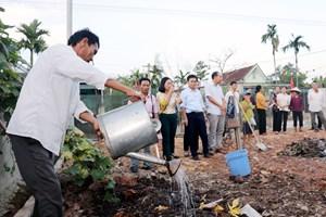 Hà Tĩnh: Giải bài toán xử lý rác thải, nước thải ở nông thôn