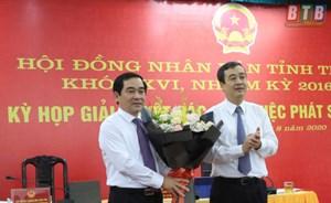 Thái Bình: Phó Bí thư Thường trực được bầu giữ chức Chủ tịch HĐND tỉnh