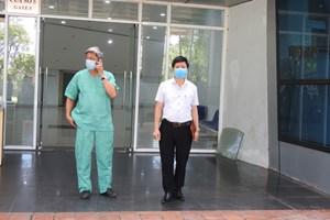 Bệnh viện dã chiến Cung thể thao Tiên Sơn vận hành vào ngày 14/8