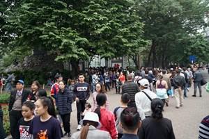 Tạm dừng các hoạt động tập trung đông người quanh Hồ Gươm