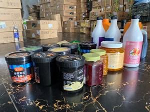Hà Nội: Thu giữ gần 10 tấn nguyên liệu trà sữa không rõ nguồn gốc