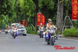 Hà Nội: Cấm nhiều tuyến đường phục vụ Đại hội Đảng bộ TP và Đảng bộ Công an Trung ương