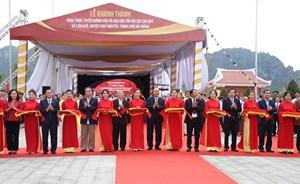 Thủ tướng Nguyễn Xuân Phúc dự lễ khánh thành Khu bảo tồn bãi cọc Cao Quỳ
