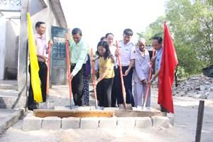 Quảng Trị: Khởi công nhà Đại đoàn kết cho hộ nghèo
