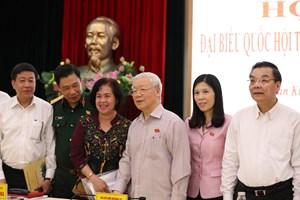 Tổng Bí thư, Chủ tịch nước: Hà Nội nhiều việc chậm chạp quá!