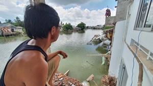 Đồng bằng sông Cửu Long: Sạt lở nhiều do mất cân bằng phù sa