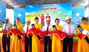 Sóc Trăng: Khánh thành tuyến đường 'tôm, lúa' 1.200 tỷ đồng