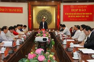 Thanh Hóa được bầu 3 Phó Bí thư Tỉnh ủy