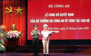 Tân Giám đốc Công an tỉnh Điện Biên là ai?