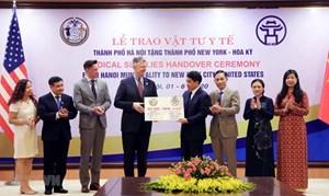 Những kết quả ấn tượng trong hợp tác giữa Hà Nội và Hoa Kỳ