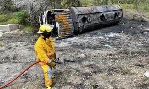 Colombia: Nổ xe bồn, 7 người hôi xăng thiệt mạng