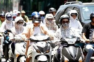 Nắng nóng gay gắt từ Thanh Hóa đến Quảng Trị, cao nhất 40 độ C