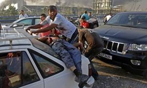 Người chết do nổ ở Lebanon tăng lên 135