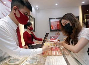 Giá vàng SJC tiếp tục tăng, giao dịch quanh mức 59,85 triệu đồng
