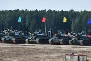 [VIDEO] Xe tăng T-34 huyền thoại của Nga phô diễn sức mạnh tại Army Games 2020
