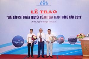 Báo Đại Đoàn Kết đạt giải Nhất giải thưởng báo chí tuyên truyền về ATGT