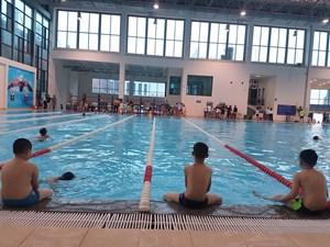 Phổ cập bơi trong trường học: Chung tay gỡ khó