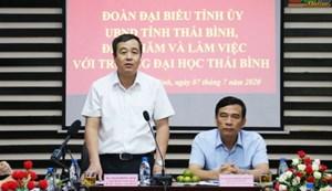 Xây dựng đề án Trường ĐH Thái Bình là thành viên ĐH Quốc gia Hà Nội