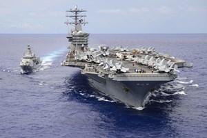 Mỹ, Ấn Độ tập trận chung trên Ấn Độ Dương