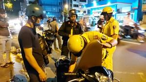 Cảnh sát giao thông TP HCM ra quân trấn áp đua xe trái phép
