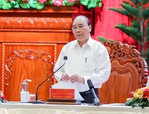 Thủ tướng làm việc với lãnh đạo các địa phương ĐBSCL