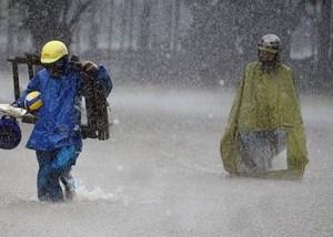 Hoàn lưu sau bão sẽ tiếp tục gây mưa lớn khu vực Bắc Bộ