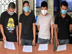 Đà Nẵng: 5 thanh niên tụ tập ăn nhậu bị đề nghị phạt 42,5 triệu đồng