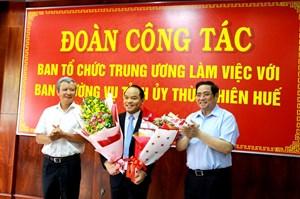 Giám đốc Công an tỉnh làm Phó Bí thư Tỉnh ủy Thừa Thiên - Huế