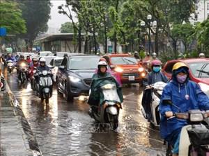 Bắc Bộ đón đợt mưa trên diện rộng