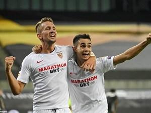 Ngược dòng hạ M.U, Sevilla thẳng tiến chung kết Europa League