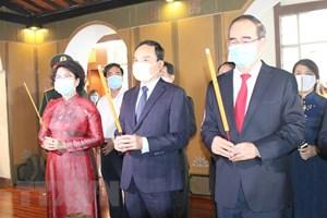 TP Hồ Chí Minh: Tổ chức kỷ niệm 132 năm Ngày sinh Chủ tịch Tôn Đức Thắng