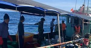 Đẩy đuổi tàu cá Trung Quốc xâm phạm lãnh hải Việt Nam