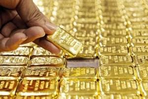 Giá vàng chao đảo nhẹ