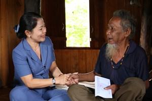 MT Bình Định: Thăm, tặng quàcác gia đình chính sách, người có công với cách mạng