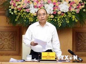 Thủ tướng chủ trì họp Tiểu ban Kinh tế - xã hội chuẩn bị Đại hội Đảng