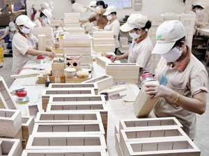 Trong khó khăn, xuất khẩu gỗ vẫn khả quan