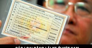 Chính phủ trình quy định bằng lái xe có 12 điểm/năm, mất điểm phải thi lại