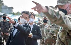 Bộ trưởng Quốc phòng Hàn Quốc thăm làng đình chiến Panmunjom