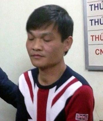 Tạ Văn Hải thời điểm bị tổ công tác 141 bắt giữ đầu năm 2014.
