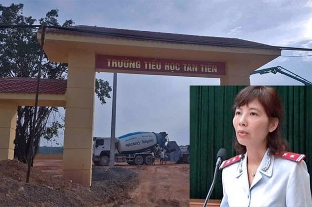 Bà Nguyễn Thị Kim Anh (44 tuổi, Phó trưởng phòng Phòng chống tham nhũng) được phân công làm trưởng đoàn thanh tra tại Vĩnh Phúc.