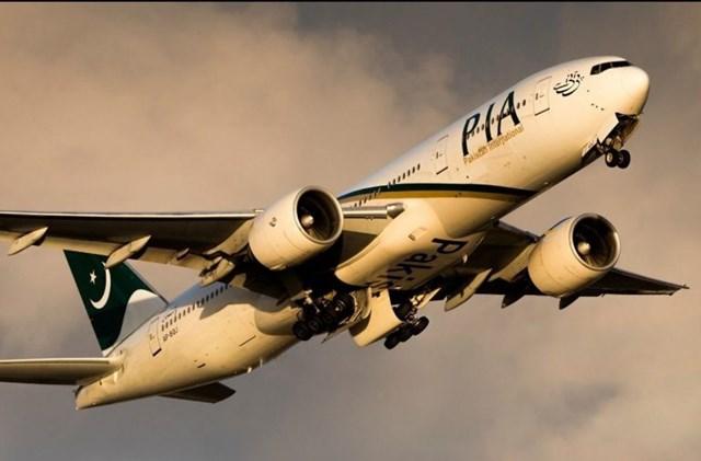 Một máy bay của hãng hàng không quốc tế Pakistan (PIA) (Ảnh minh họa: Twitter).