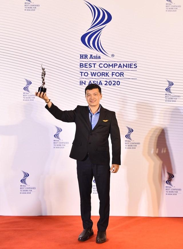 Vietjet tiếp tục đoạt giải thưởng 'Nơi làm việc Tốt nhất châu Á' - Ảnh 1