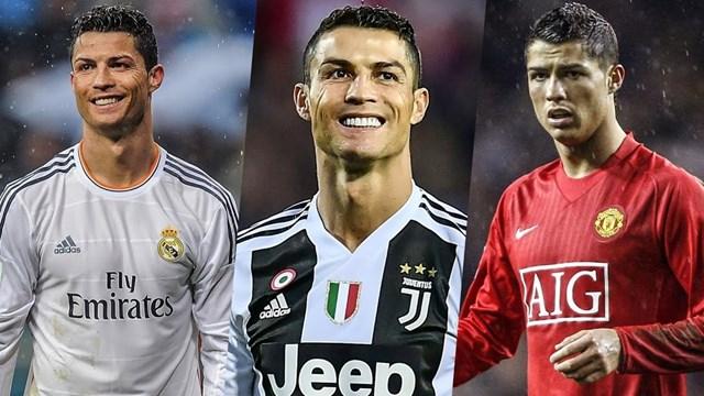Ronaldo cán mốc 25 bàn trong màu áo Juventus, Real Madrid và Manchester United.