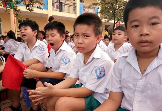 Cô Nguyễn Thu Hường cho rằng ép trẻ học quá nhiều, vô tình người lớn đang