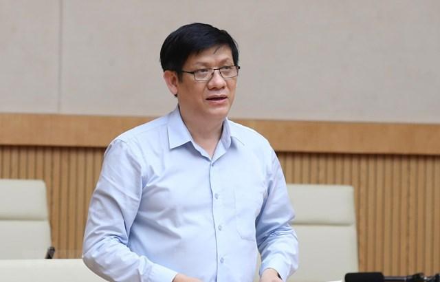 Ông Nguyễn Thanh Long vừa được Thủ tướng bổ nhiệm làm quyền Bộ trưởng Bộ Y tế.