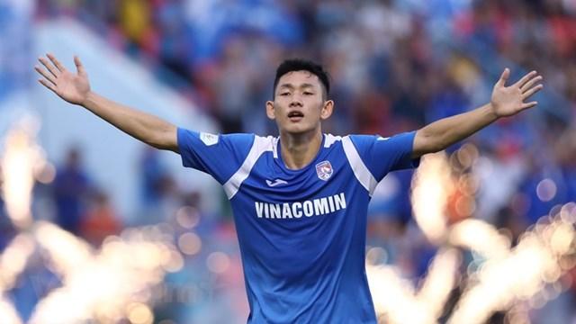 Tiền vệ trẻ Hai Long của Than Quảng Ninh sở hữu nhiều tiềm năng để trở thành một ngôi sao lớn. Ảnh: Vietnam+.