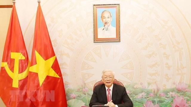 Tổng Bí thư, Chủ tịch nước Nguyễn Phú Trọng. (Ảnh: Trí Dũng/TTXVN).