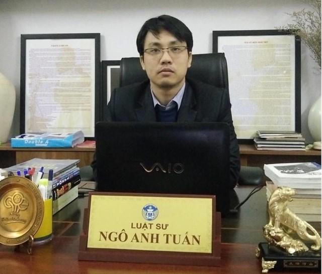 Luật sư Ngô Anh Tuấn.