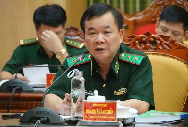 Trung tướng Hoàng Xuân Chiến.