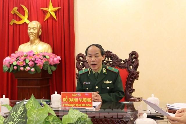 Bí thư Đảng ủy, Chính ủy Bộ đội Biên phòng Đỗ Danh Vượng.